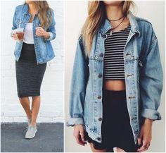 A Vez do Jaquetão Jeans