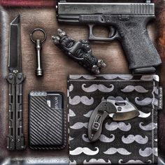 Keep calm and glock on. - Essentials.. find a lot of these items at...
