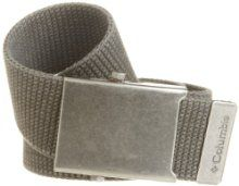 Columbia Mens Military Style Belt by Columbia at the Indiana Apparel