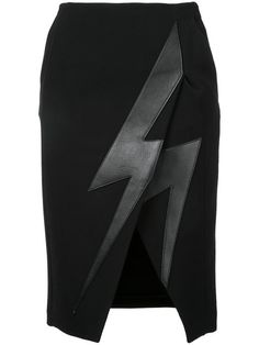 NEIL BARRETT Lightning Bolt Skirt. #neilbarrett #cloth #skirt