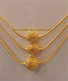 3 line gold mala