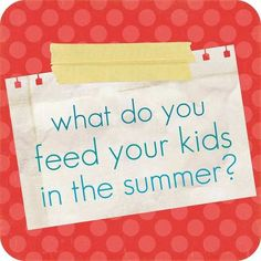 THIS IS SUCH A USEFUL BUNCH OF COMMENTS FOR HEALTHY OR QUICK KID FOOD !