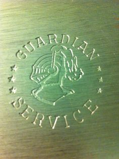 guardian service label, originally from sheoshi, etsy