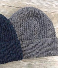 Knit Hat for Men Men's Knit Hat Men's Knit by WendysWonders127
