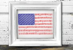 Star Spangled Banner printable Poster Sheet by Vibesbuild Printable Banner, Printables, Bob Ross Quotes, Star Spangled Banner, Any Music, Typography Poster, 4th Of July, Sheet Music, Diy And Crafts