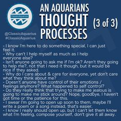 What goes on in an Aquarians mind? A look into an Aquarians thought processes. Aquarius Pisces Cusp, Aquarius Traits, Aquarius Love, Aquarius Quotes, Aquarius Woman, Zodiac Signs Aquarius, Zodiac Star Signs, Astrology Zodiac, Age Of Aquarius