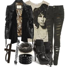 That's cute - I would TOTALLY ROCK this look!  seriously!  I think on stage, too!