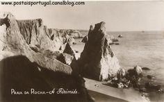 Portimão : Praia da Rocha - a piramide
