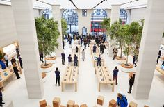 Project: Apple Regent Street - Retail Focus - Retail Blog For Interior Design and Visual Merchandising