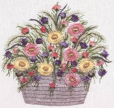 EdMar Co. #1034 Daisy Basket