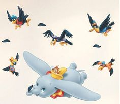 Wall Stickers for Kids Stick Wall Decals Wall Decals Decoration Wall Sticker Decal - Flying Elephant and Duck by bigbvg, http://www.amazon.com/dp/B0088I8HS8/ref=cm_sw_r_pi_dp_s0f0pb04VQEX1