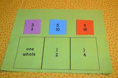 Make an Equivalent Fraction Game