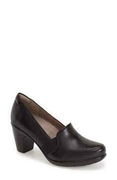 Naturalizer'Vinette' Pump leather black sz7.5 118.95 1/16