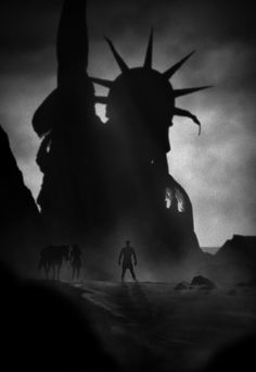 Planet of the Apes by Marko Manev * I like the work of the shadows.