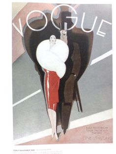 Vintage Vogue magazine covers: November 1926