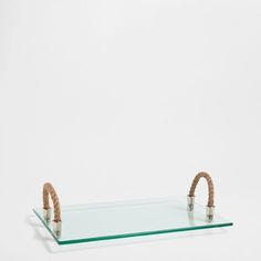 Tray with Rope Handles - Trays - Tableware | Zara Home Finland