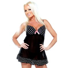 Time to get playful in this retro baby doll style number