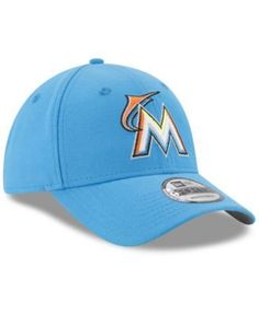 New Era Miami Marlins Players Weekend 9FORTY Cap - Blue Adjustable