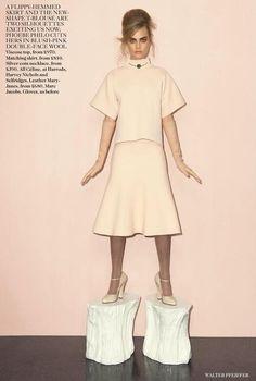 Cara Delevingne  Vogue UK September 2013