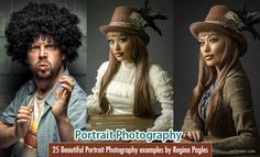 25 Beautiful Portrait Photography examples by Regina Pagles. Read full article: http://webneel.com/portrait-photography-inspiration-tips-beginners | more http://webneel.com/photography | Follow us www.pinterest.com/webneel