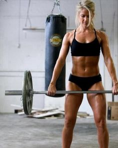 #crossfit girls avoid skinny!!!! Be healthy and proud of what your body can do...its a temple make it a strong place of worship