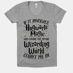 If It Involves Hogwarts, Magic, And Saving The Wizarding World, Count Me In