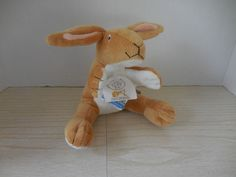 NUTBROWN HARE  Bunny Rabbit Plush Guess How Much I Love You Bean Bag Plush NWT #KidsPreferred