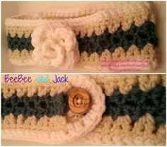 These are so handy in the fall/winter  Crochet Ear warmer Winter ear warmer Winter by BeeBeeandJack