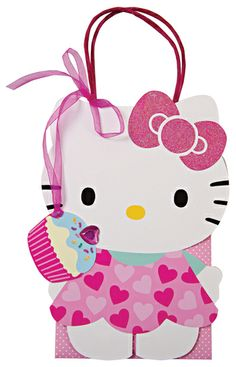 Hello Kitty Favor Bags.