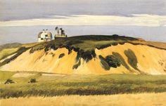""""""" Dune with Green Top by Edward Hopper """""""