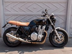 ϟ Hell Kustom ϟ: Honda CB1100 By CD Garage