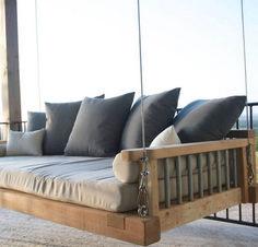 Charming Porch Swing Idea 4