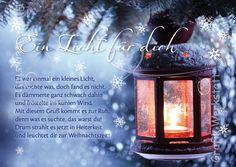 Art.Nr. 6459: Postkarte - Ein Licht für dich