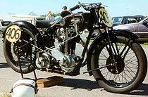 Saroléa 500 cc wegracer uit 1928