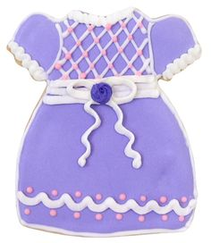 Baby Dress Cookie Cutter
