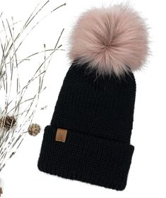 So after all those summer temps ... it's coooold again today! 🤦♀️  I confess - I'm more of a cold lover than heat lover so it really just makes me want to cozy up with some streaming & knitting 🧶  Shown: Little Black Hat w Alpaca & Blush Snap Pom . . . #littleblackhat #roughbarkknits #ancaster #waterdown #madeinhamilton #londonontario #fauxfur #alpacalove #beanies #shopsmall #shoplocalcanada #basicstyle #basics #cozyvibes #easystyle Basic Style, Simple Style, Beanies, Faux Fur, Winter Hats, Blush, Lovers, Cozy, Knitting