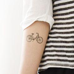 Black bicycle tattoo - Styleoholic