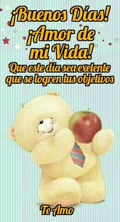 TE AMO MI AMOR Good Morning Love, Good Morning Quotes, Love In Spanish, Spanish Greetings, Amor Quotes, Cute Cartoon Characters, Love Phrases, Eternal Love, Romance