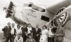 SCADTA | Leticia' Ford 5-ATA 05.Jun.1934 17.Ene.1939 1 Flying Boat, Airplanes, 1930s, Aviation, Aircraft, Trucks, Adventure, Photos, Civil Aviation
