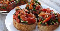 Recette - Salade de poivrons rôtis | Notée 4/5