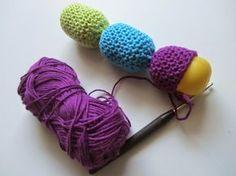 Babyrassel Babyspielzeug häkeln DIY Blog Häkelblog Liebenswelt                                                                                                                                                      More