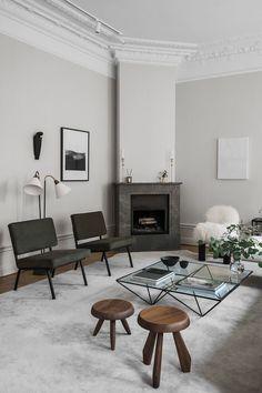 The Elegant & Stylish Home of Swedish Interior Designer Louise Liljencrantz