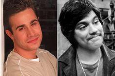 Freddie Prinze Jr. and his dad Freddie Prinze Sr.
