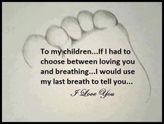 Unconditional love... Always & forever