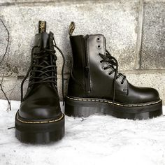 """""""Dr. Martens Jadon boots shared by @noservicenyc #DrMartens #DrMartenStyle"""""""