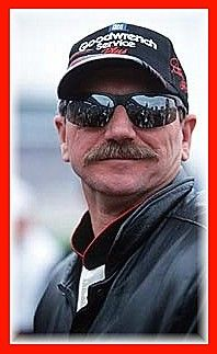 The Man In Black, Dale Earnhardt.   NOT ON SQUIDOO ANYMORE!