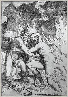Agostino Carracci: Orpheus and Eurydice (17.37.170) | Heilbrunn Timeline of Art History | The Metropolitan Museum of Art