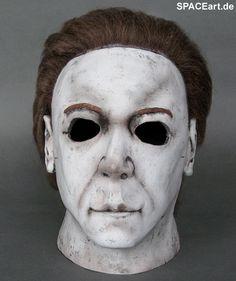 Halloween 8: Michael Myers - Deluxe Maske, Fertig-Modell ... http://spaceart.de/produkte/hlw001.php