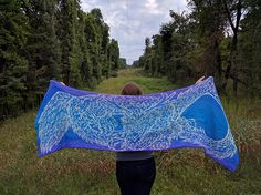 Ravelry: Seiryuu - Azure Dragon of the East pattern by Tania Richter
