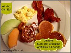 Surf's Up! Breakfast with Mickey and Friends at Disney's Paradise Pier Hotel - A Frugal Friend